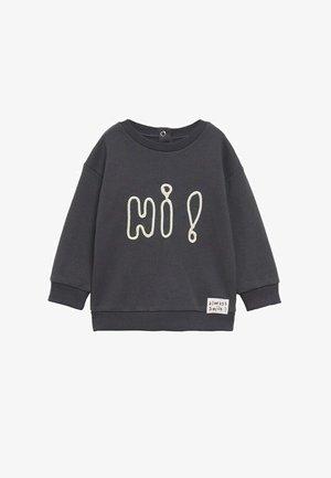 BOODSCHAP - Sweatshirt - grijs