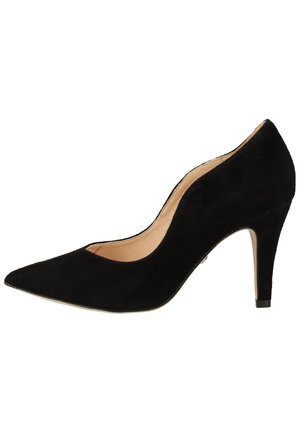 PUMPS - High heels - black suede 904