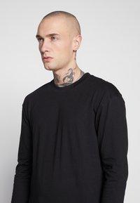 Common Kollectiv - UNISEX FLASH LONG SLEEVE - Bluzka z długim rękawem - black - 6