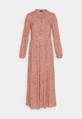 Maxi dress - pink/black