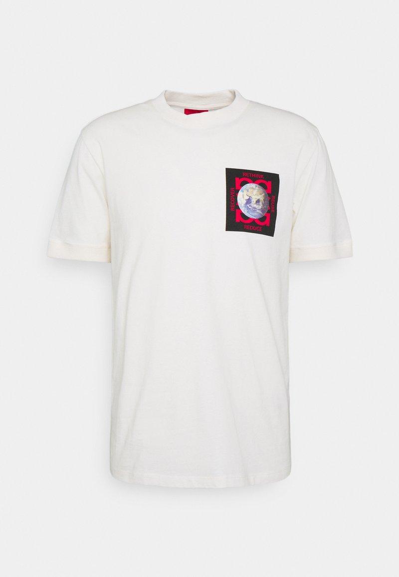 HUGO - DRINGSTEEN - Print T-shirt - natural