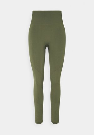 Leggings - khaki green