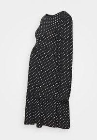 MAMALICIOUS - MLTABITTA DRESS - Jersey dress - black/white - 0