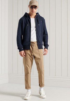 Zip-up sweatshirt - rich navy