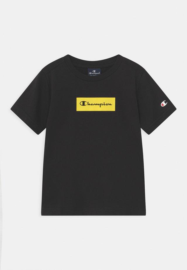 AMERICAN PASTELS CREWNECK UNISEX - T-shirt imprimé - black