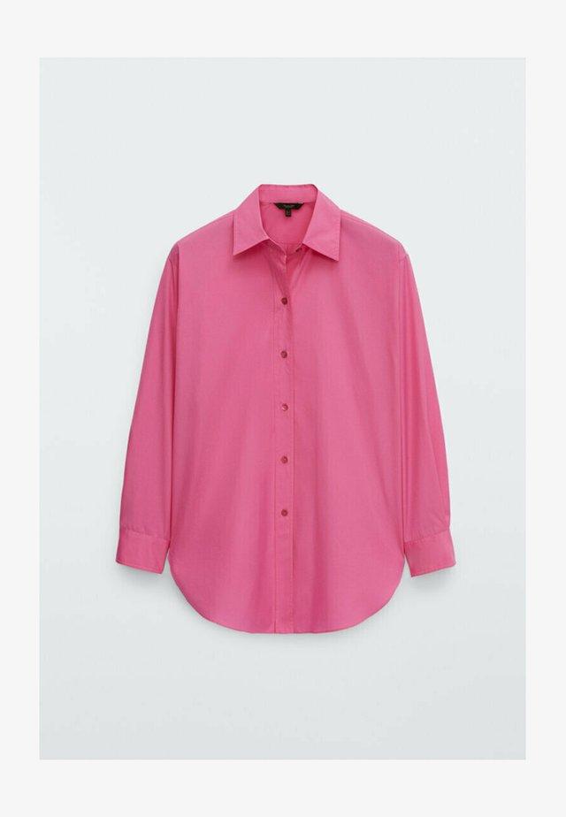 Koszula - neon pink