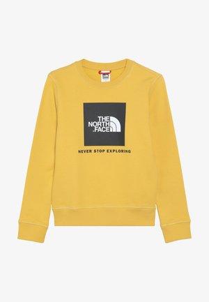 YOUTH BOX CREW UNISEX - Sweatshirt - yellow