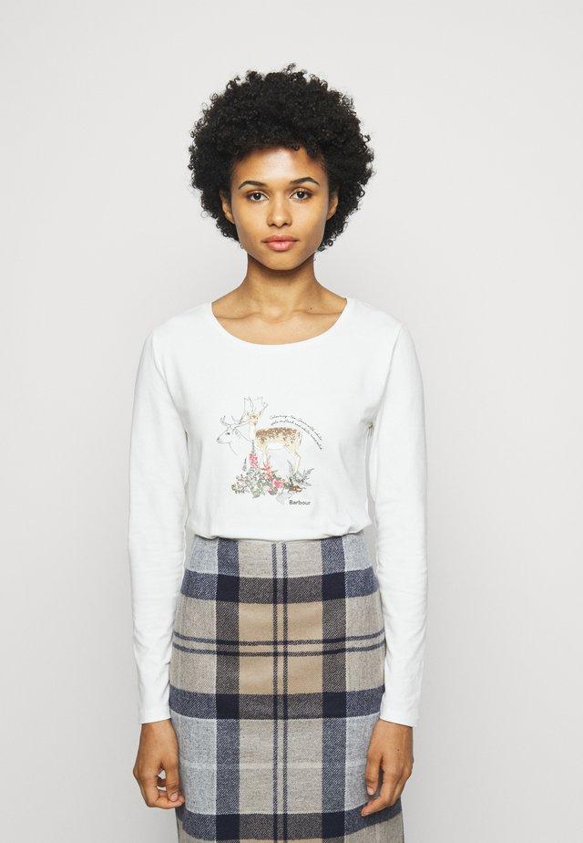 LOCKWOOD TEE - Langarmshirt - off white