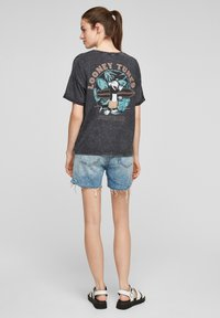 Q/S designed by - LOONEY TUNES - T-shirt print - black - 2