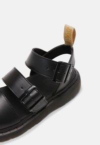 Dr. Martens - VEGAN GRYPHON UNISEX - Sandals - black - 4