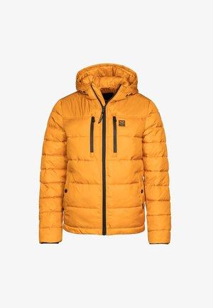 Winter jacket - mustard yellow, dark yellow