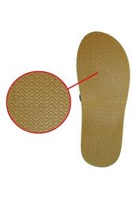 MADSea - T-bar sandals - kork/dunkelblau/orange - 3
