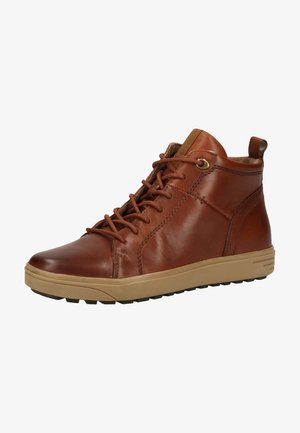 High-top trainers - cognac nappa 327