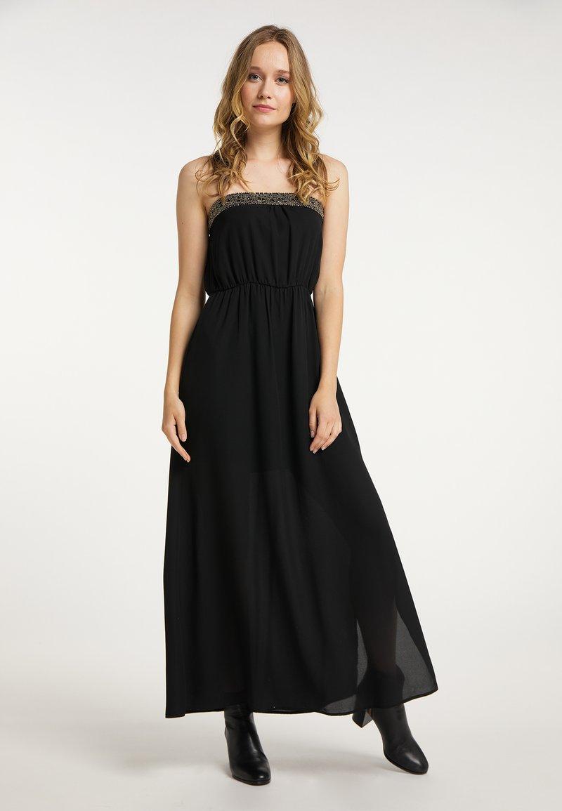 DreiMaster - Maxi dress - schwarz