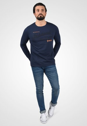 DOPPER - Long sleeved top - mood indigo blue