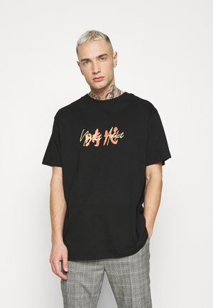 PRICE - Print T-shirt - black