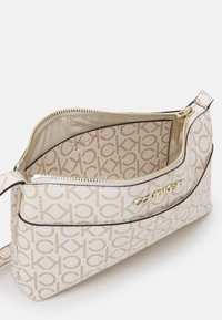 Calvin Klein - XBODY MONOGRAM - Across body bag - white - 2
