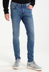 TOM TAILOR DENIM - CULVER - Slim fit jeans - light stone wash denim - 0