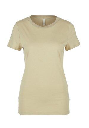 T-SHIRT - Basic T-shirt - brown