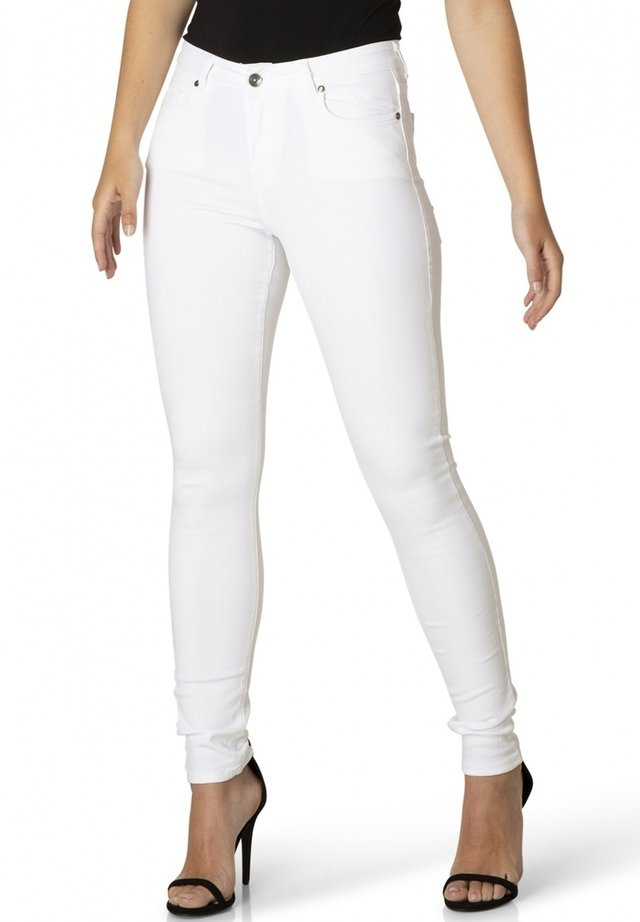 MELL - Slim fit jeans - white