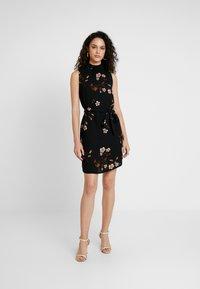 Vero Moda - VMCALLIE SMOCK DRESS - Day dress - black - 2