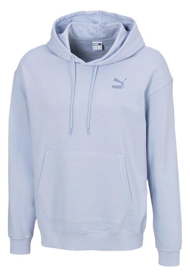 Hoodie - brunnera blue
