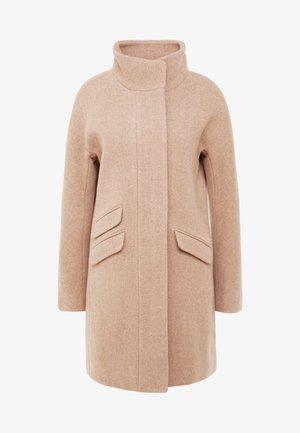 COCOON COAT - Zimní kabát - sandstone