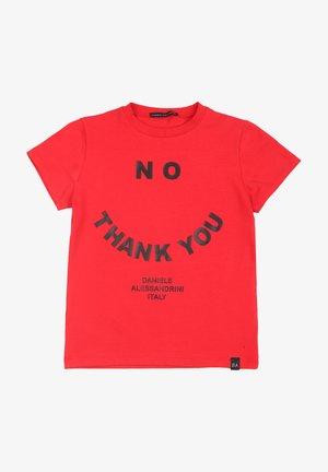 DANIELE ALESSANDRINI - T-shirt print - red