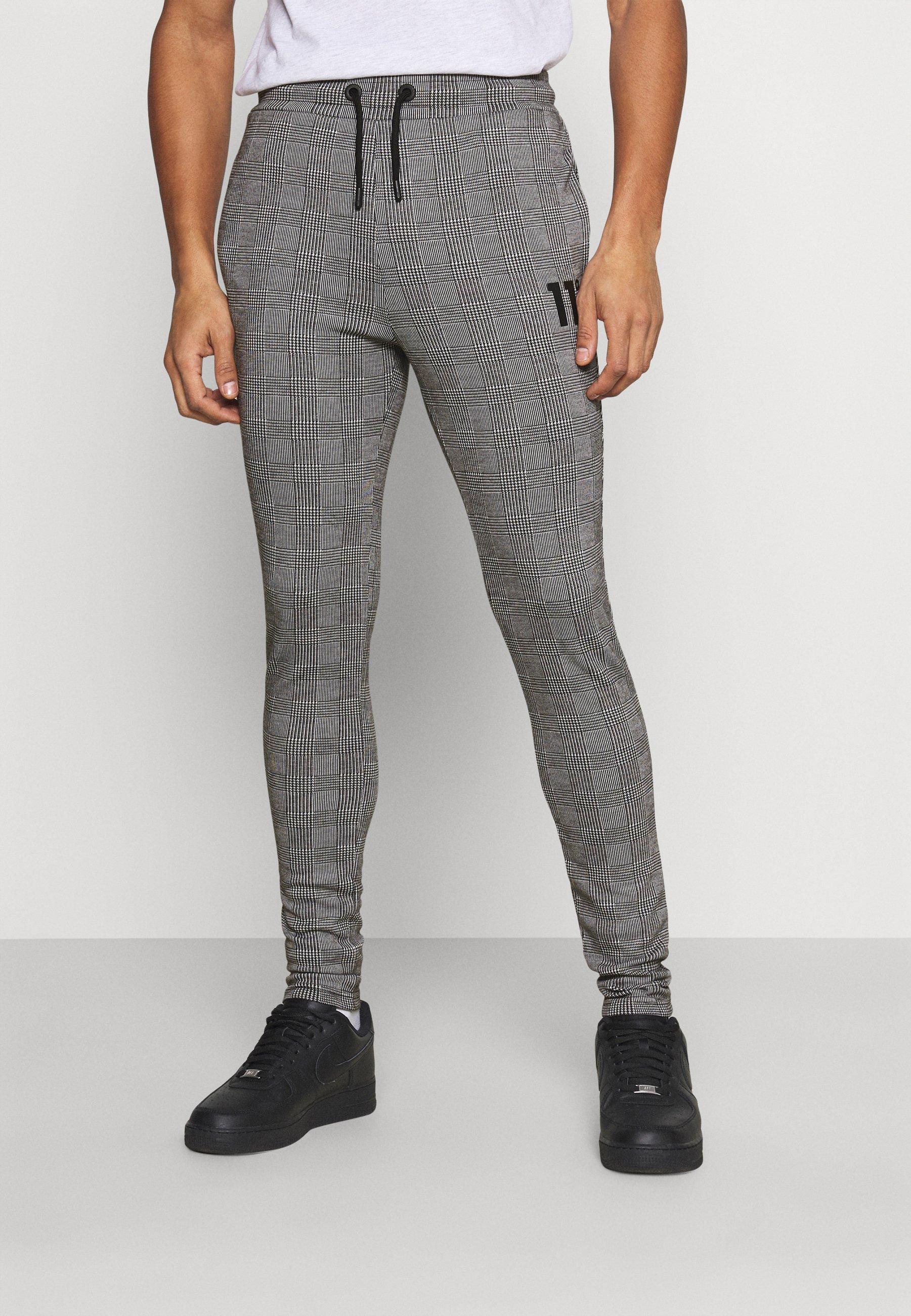 Homme PRINCE OF WALES JOGGER - Pantalon de survêtement