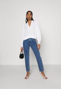Morgan - OCHICHI - Button-down blouse - offwhite - 1