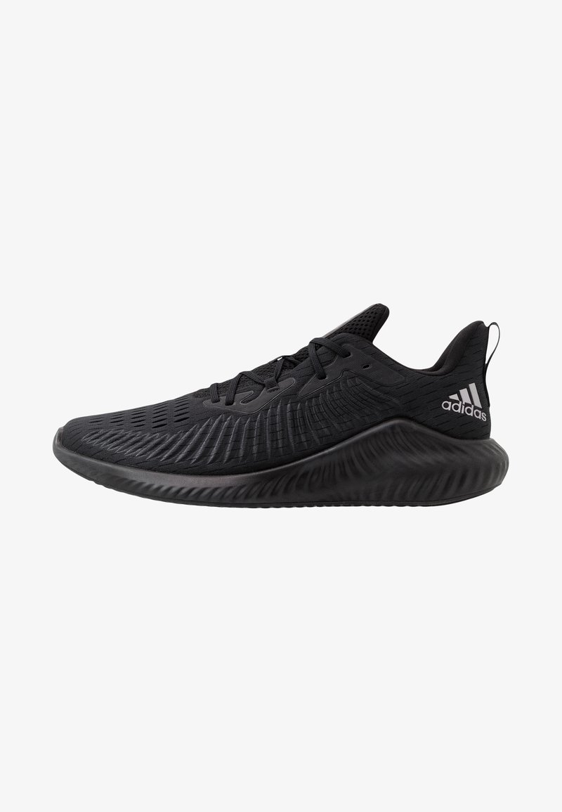 adidas Performance - ALPHABOUNCE+ - Neutral running shoes - core black/tech silver metallic/grey six