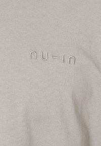 NU-IN - OVERSIZED CREW NECK - T-shirt basique - grey - 2
