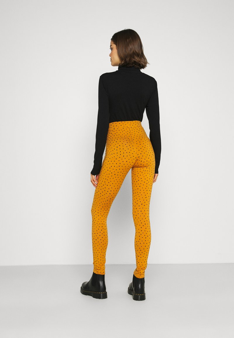 Monki - MEI - Leggings - Trousers - yellow