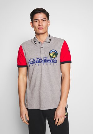 EISHOP - Polo shirt - medium grey melange