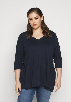 BLOUSE LOOK - Topper langermet - sky captain blue