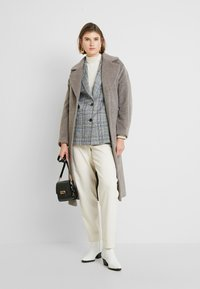 Whistles - DARCEY DRAWN BELTEDWRAP COAT - Classic coat - grey - 1