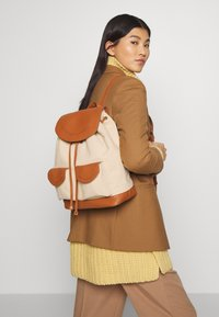 Anna Field - LEATHER/COTTON - Reppu - cognac - 1