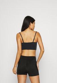 Weekday - HEAT SWIM TANK - Bikini pezzo sopra - black - 2