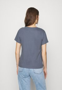 Abercrombie & Fitch - PARIS LOGO TEE  - Print T-shirt - blue - 2