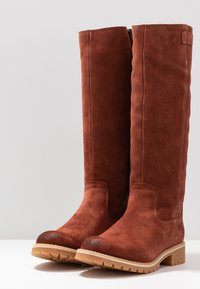s.Oliver - Winter boots - cognac - 4