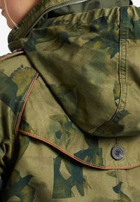 khujo - STACEY - Light jacket - khaki gemustert - 4