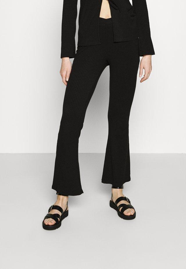 ELLIE TROUSER - Pantalones - black