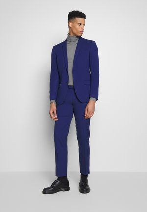 BRIGHT BLUE SLIM SUIT - Garnitur - blue