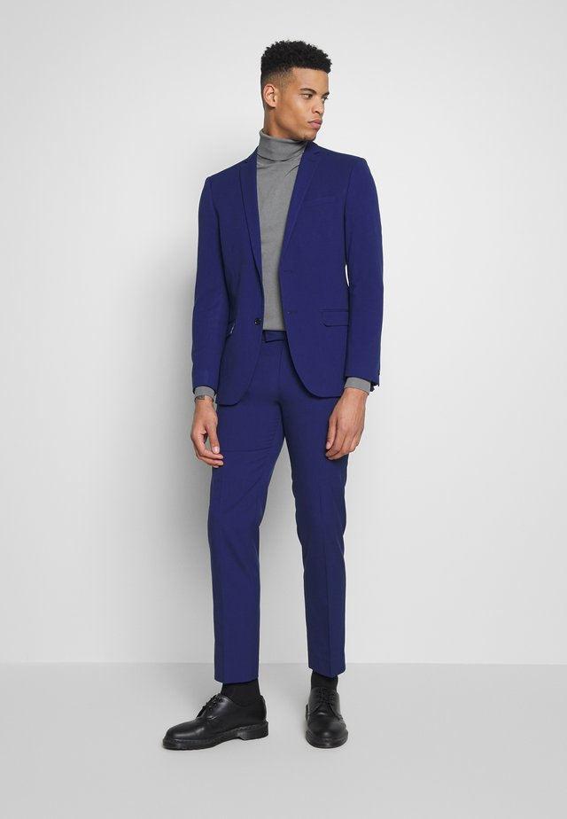 BRIGHT BLUE SLIM SUIT - Kostym - blue