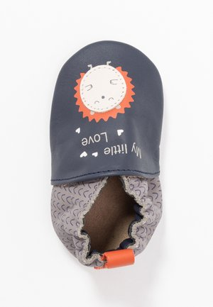 LITTLEHEDGEHOG - First shoes - marine/gris
