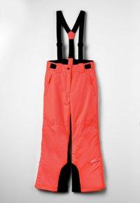 Icepeak - CELIA UNISEX - Zimní kalhoty - orange - 0