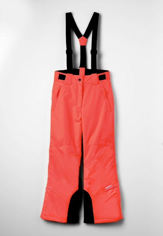CELIA UNISEX - Pantalon de ski - orange