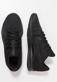 Nike Performance - DOWNSHIFTER  - Stabilty running shoes - black/anthracite - 1
