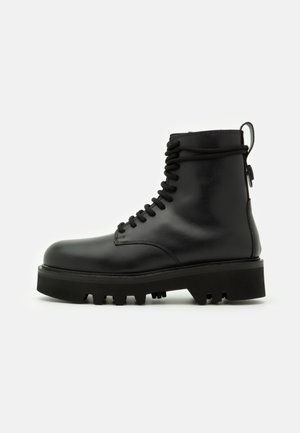 RITA ARMY BOOT  - Platform ankle boots - nero