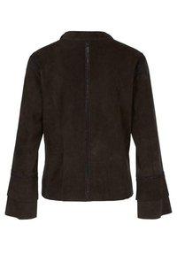 Marc Cain - Leather jacket - arabica - 5